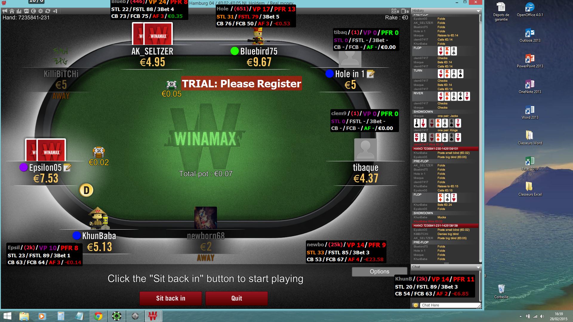Hud poker tracker winamax hard rock hotel and casino tulsa